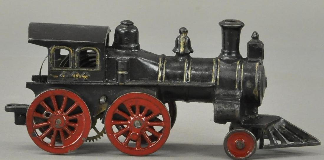 EARLY CLOCKWORK HUBLEY FLOOR LOCOMOTIVE