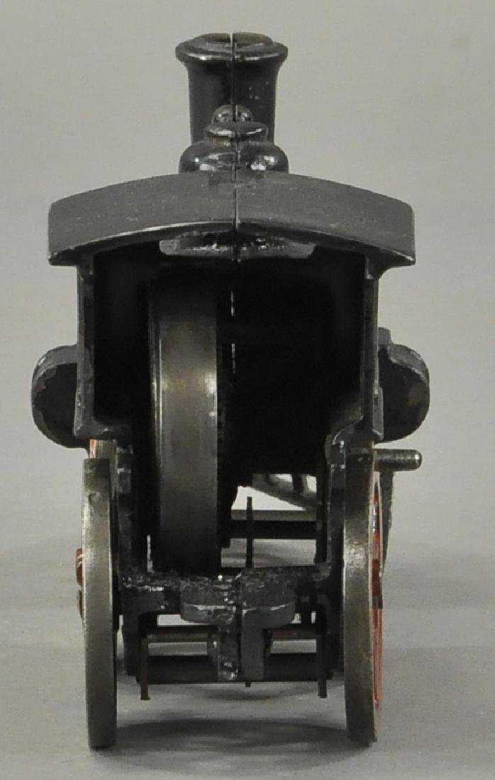 EARLY CLOCKWORK HUBLEY FLOOR LOCOMOTIVE - 4