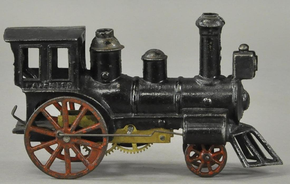 EARLY CLOCKWORK CARPENTER FLOOR LOCOMOTIVE