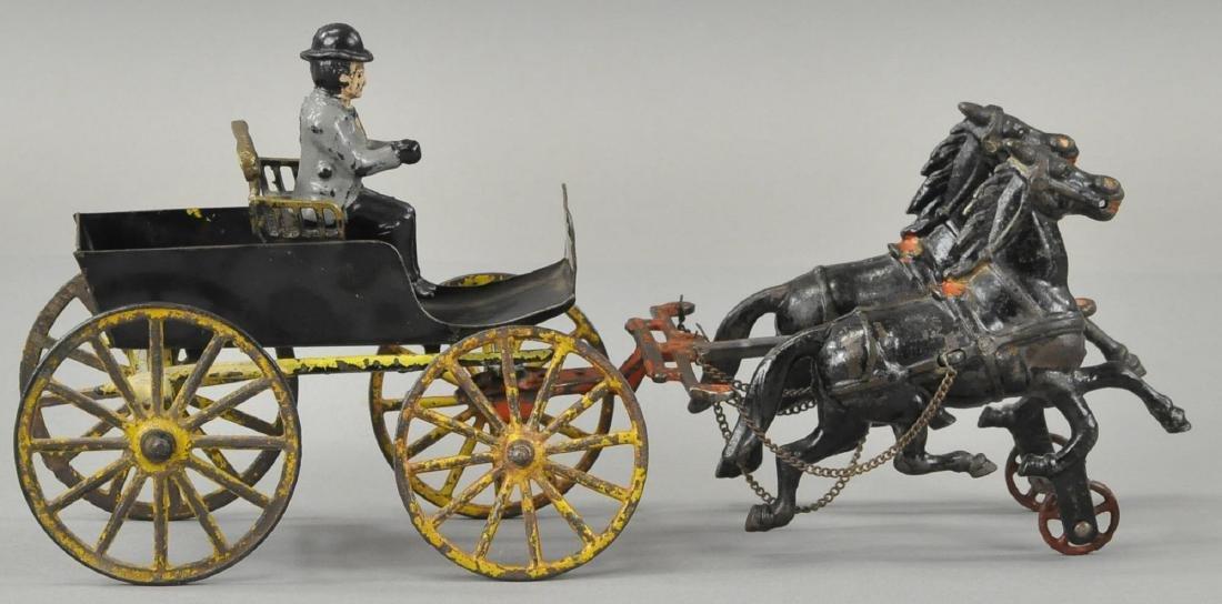 TWO HORSE SURREY CART - PL/WILKINS - 3