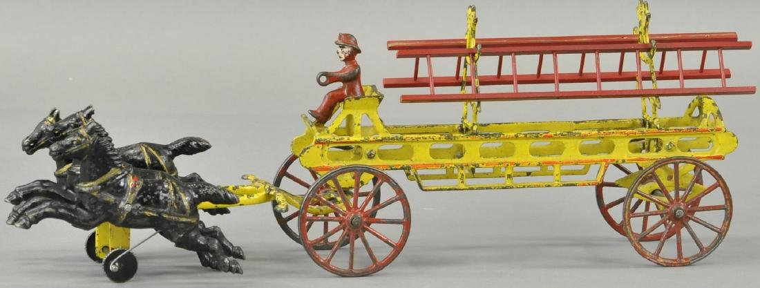 WILKINS HORSE DRAWN FIRE LADDER TRUCK