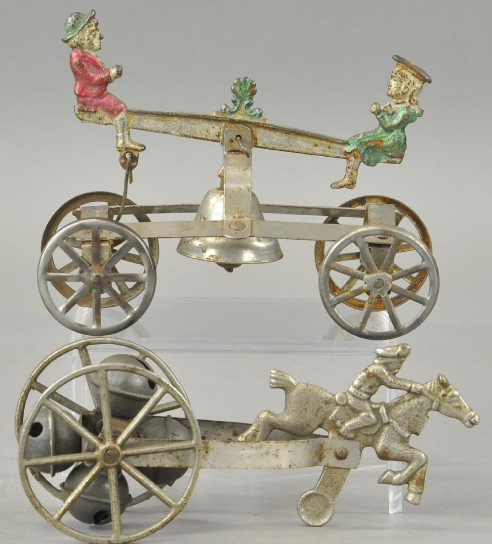 TWO WALTROUS BELL TOYS - 2