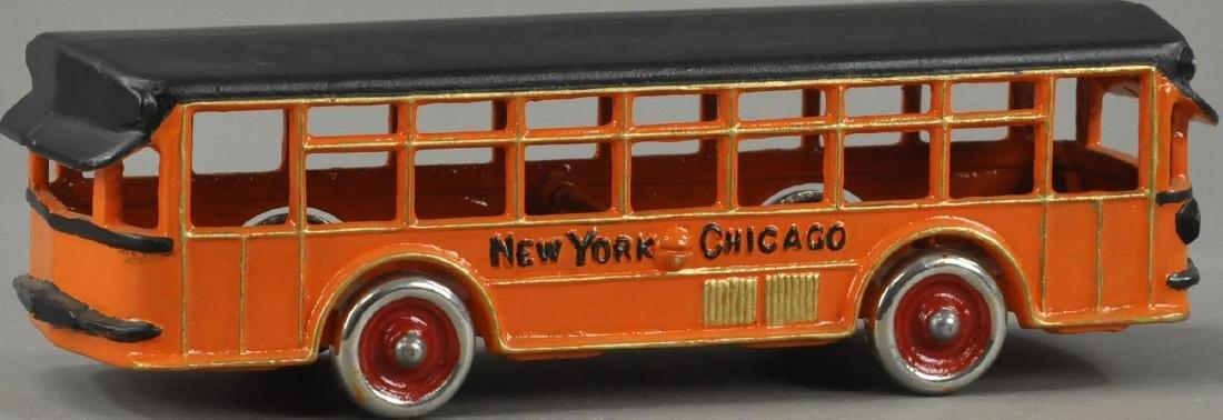 DENT NEW YORK - CHICAGO MOTOR BUS