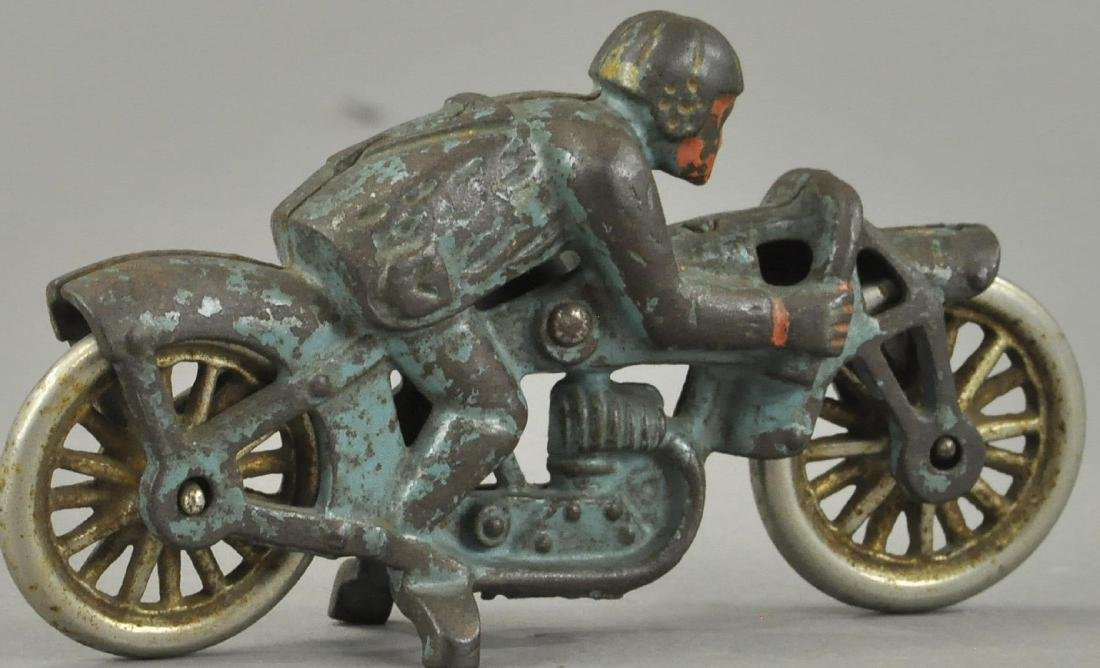 HUBLEY PEA SHOOTER RACER MOTORCYCLE - 3