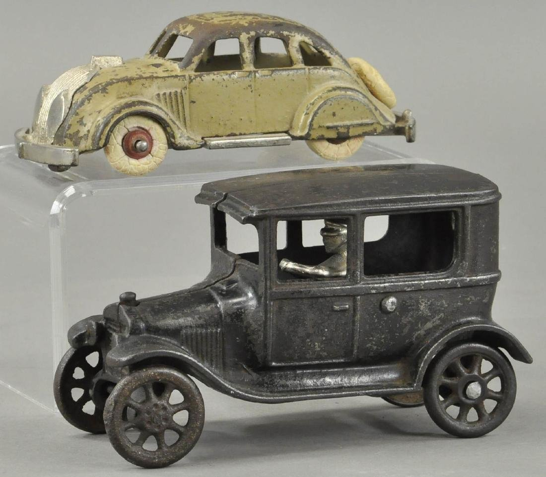 HUBLEY AIRFLOW AND ARCADE FORD MODEL T