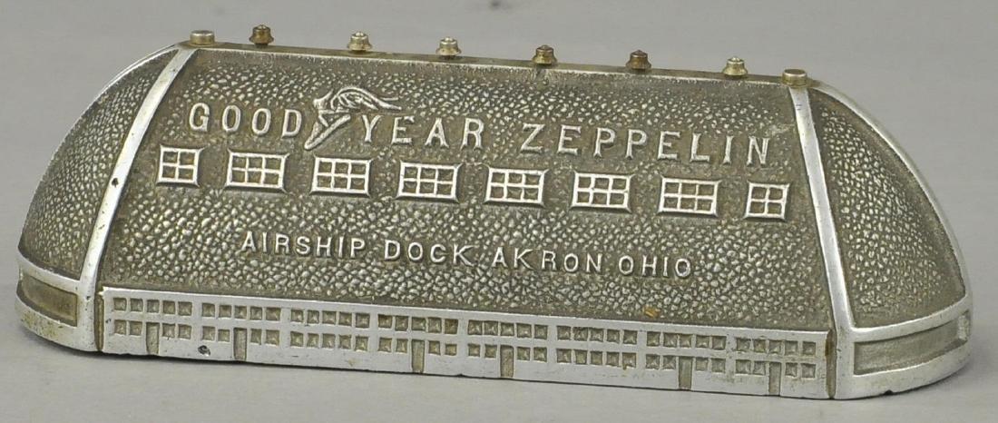 GOOD YEAR ZEPPELIN STILL BANK W/ PAMPHLET - 2