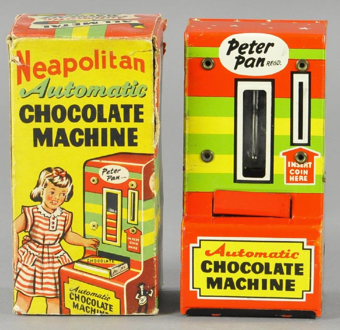 BOXED ENGLISH NEAPOLITAN TIN CHOCOLATE BANK