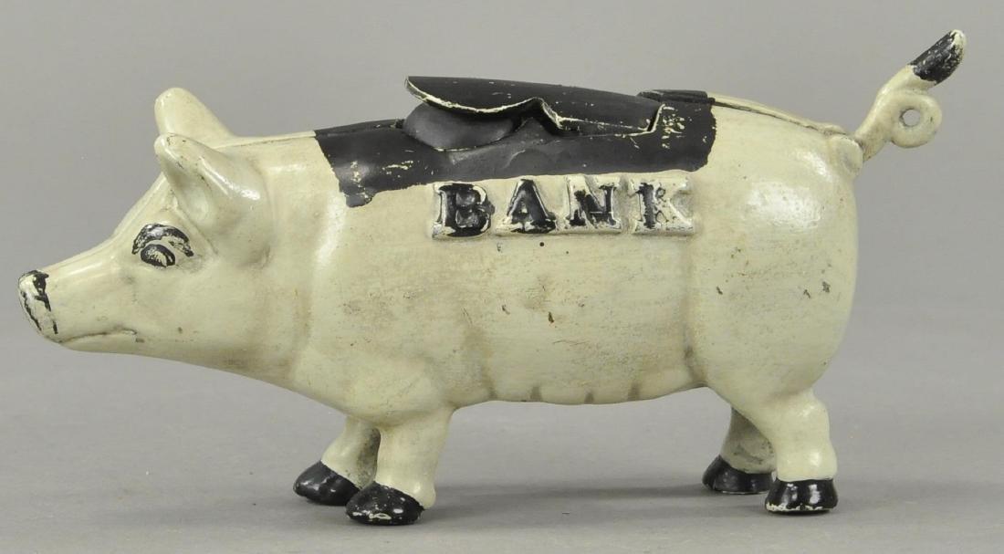 TRICKY PIG MECHANICAL BANK - CONTEMPORARY - 3