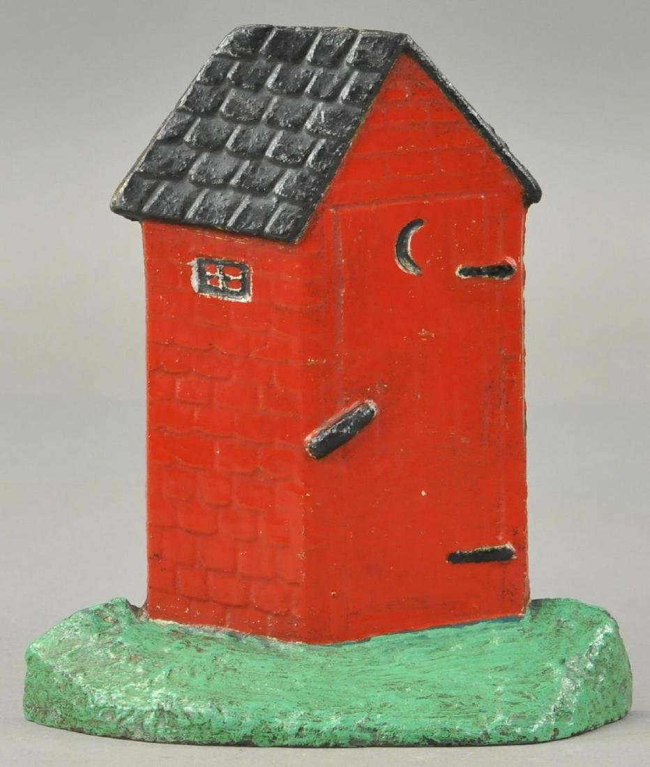 OUTHOUSE DOORSTOP