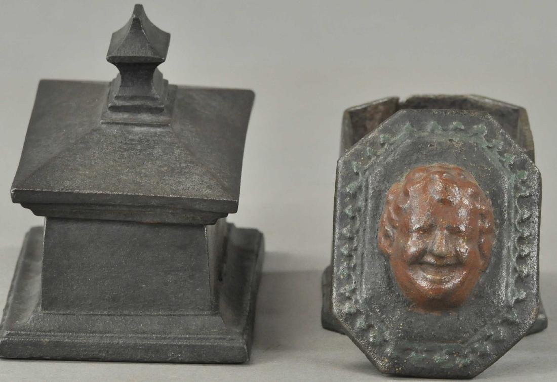 TWO EIGHTEENTH CENTURY TOBACCO BOXES