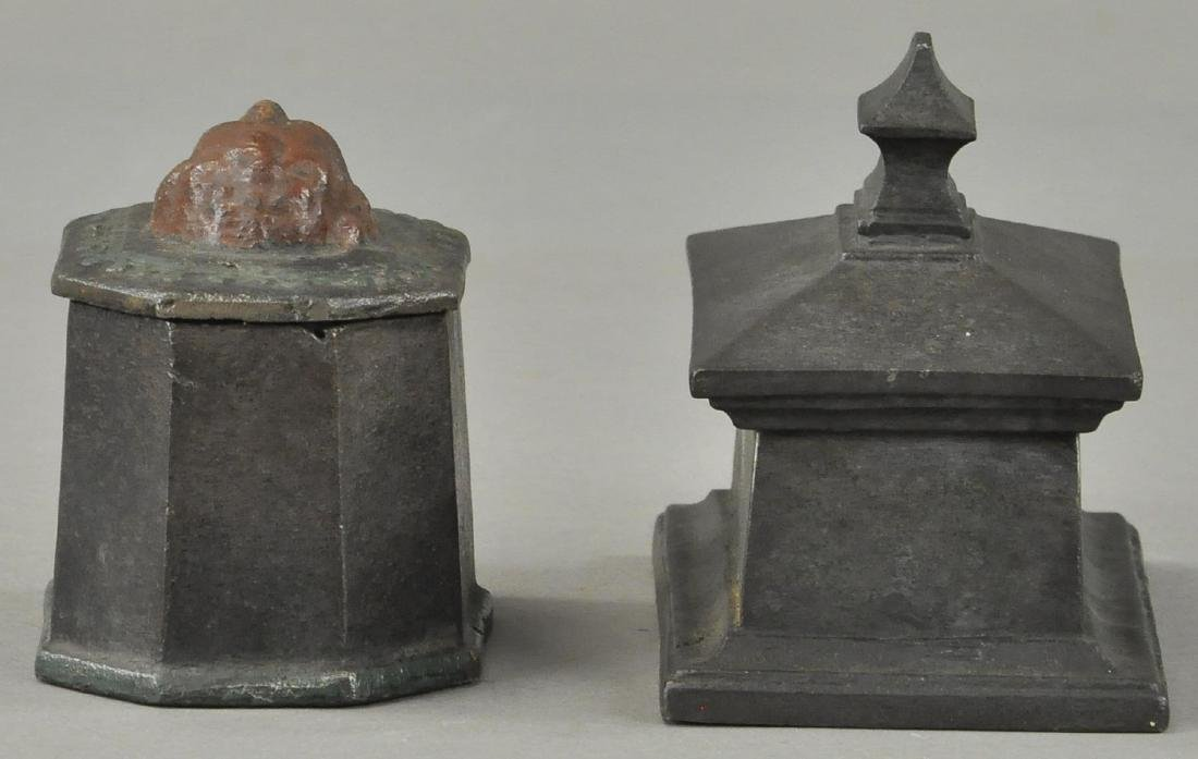 TWO EIGHTEENTH CENTURY TOBACCO BOXES - 2