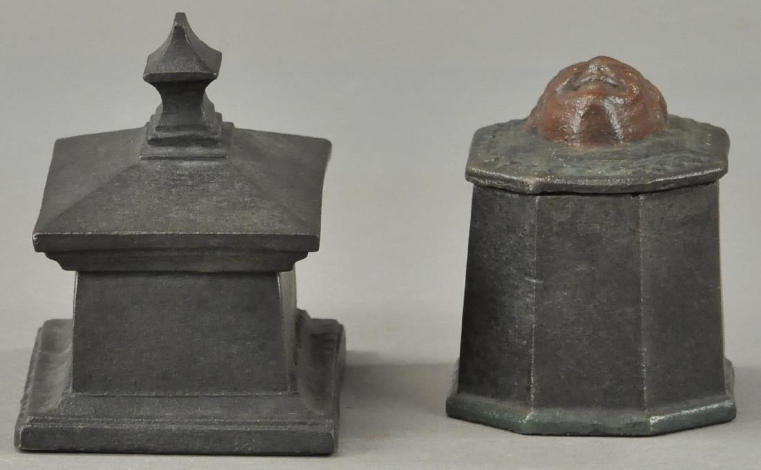 TWO EIGHTEENTH CENTURY TOBACCO BOXES - 3