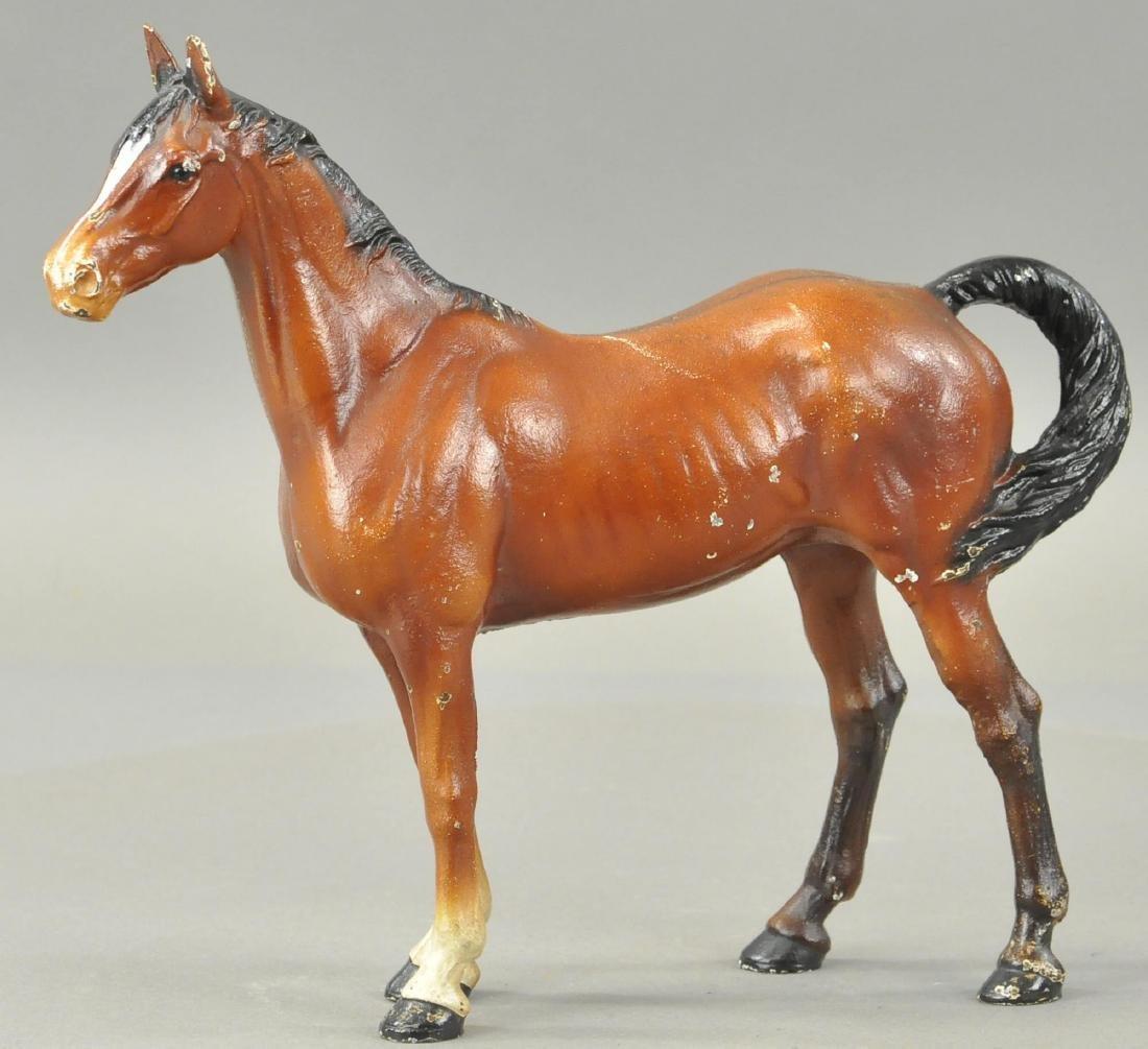 HUBLEY LARGE HORSE DOORSTOP