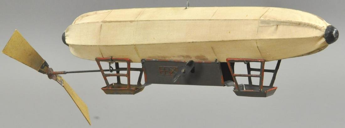 EARLY GERMAN CLOTH DIRIGIBLE