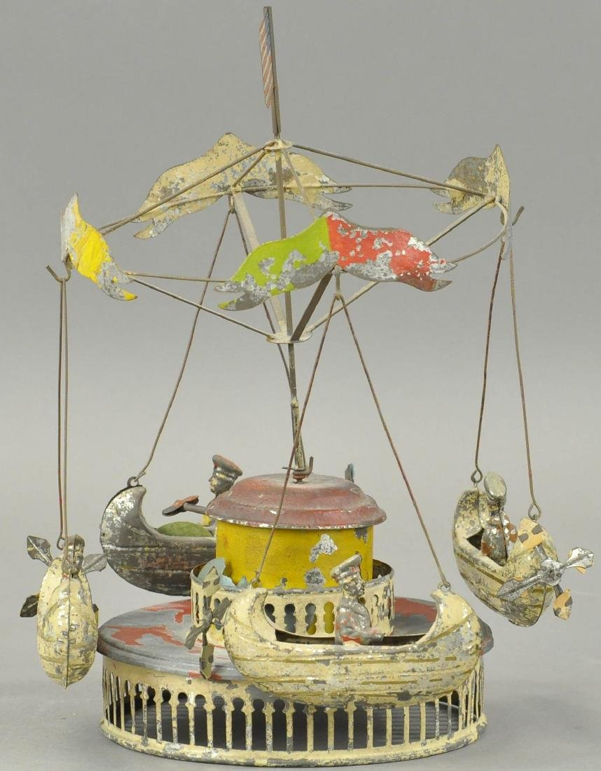 M & K CAROUSEL WITH FLYING BOATS