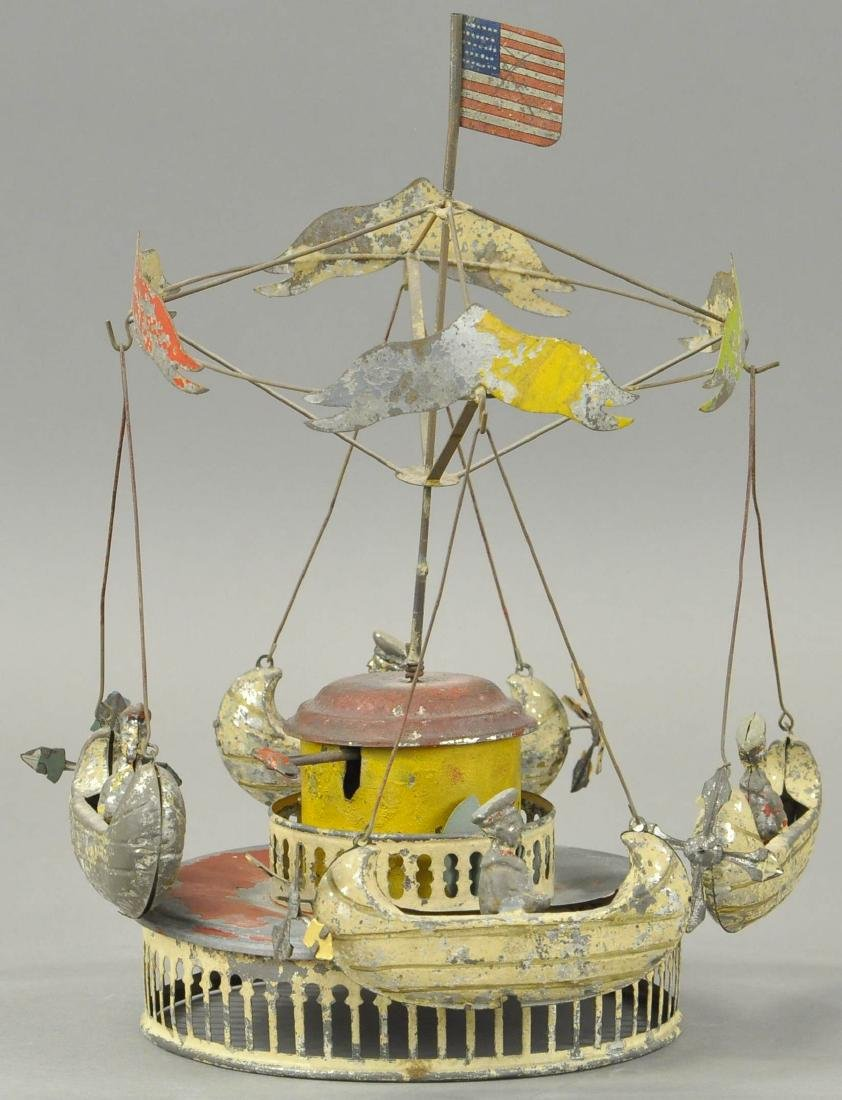 M & K CAROUSEL WITH FLYING BOATS - 2