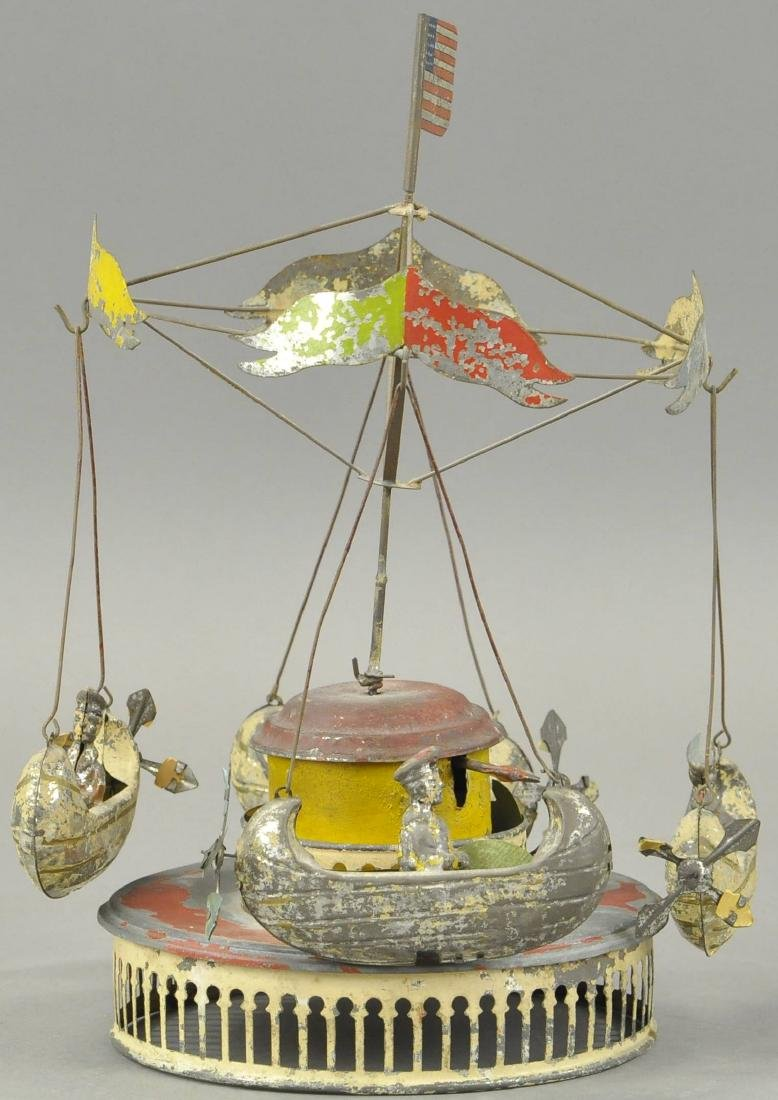 M & K CAROUSEL WITH FLYING BOATS - 3