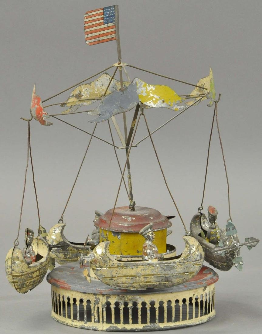 M & K CAROUSEL WITH FLYING BOATS - 4