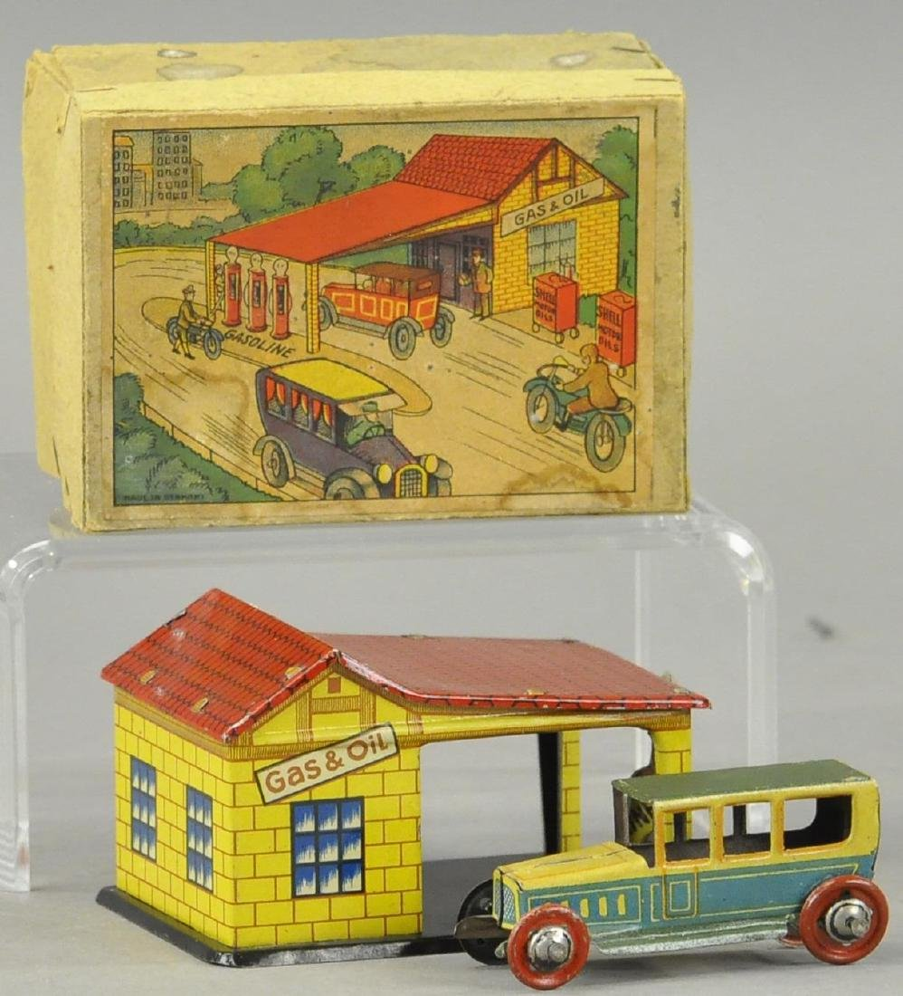 BOXED DISTLER PENNY TOY AUTO STATION