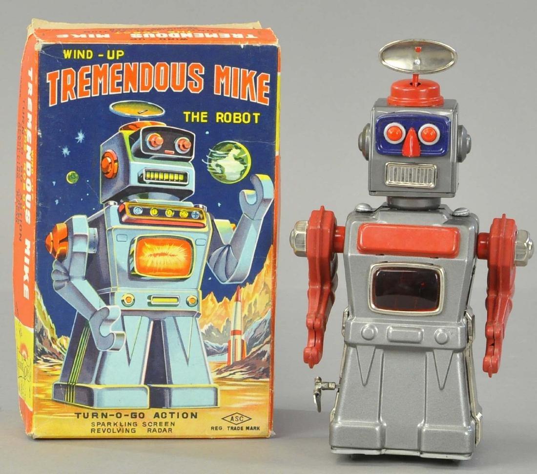 BOXED TREMENDOUS MIKE ROBOT