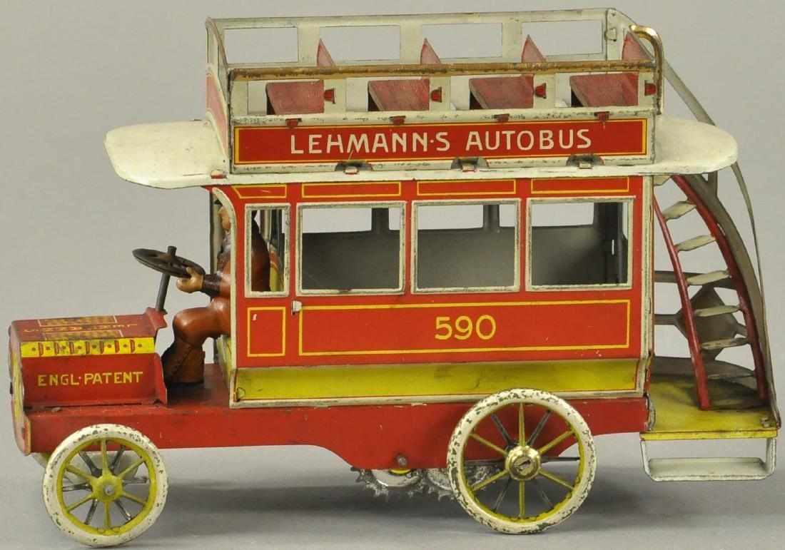 LEHMANN DOUBLE-DECKER AUTOBUS