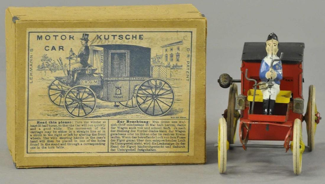 BOXED LEHMANN MOTOR KUTSCHE