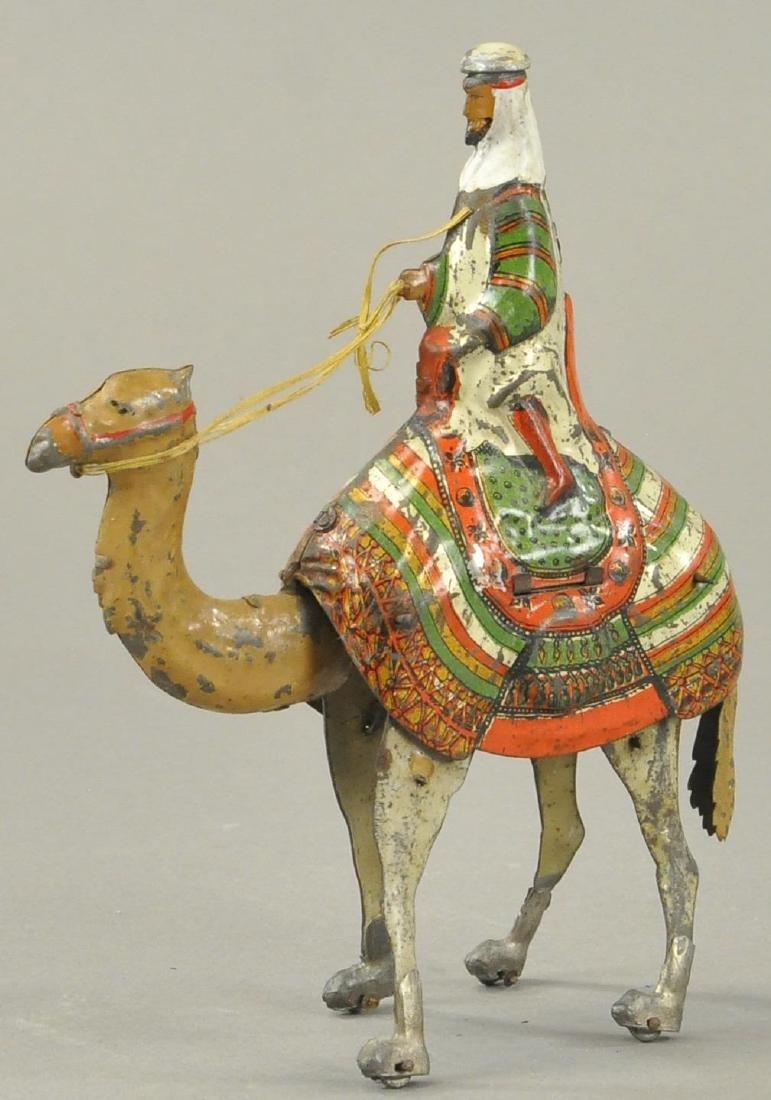 MARTIN LE CHERIF ARAB ON CAMEL