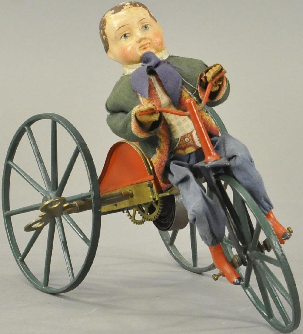 STEVENS AND BROWN BOY ON VELOCIPEDE