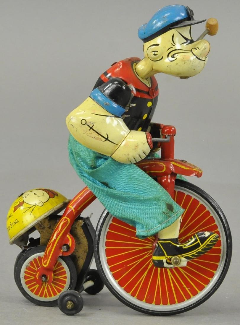 LINEMAR POPEYE THE CYCLIST