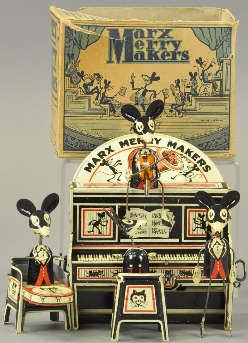BOXED MARX MERRY MAKERS BAND