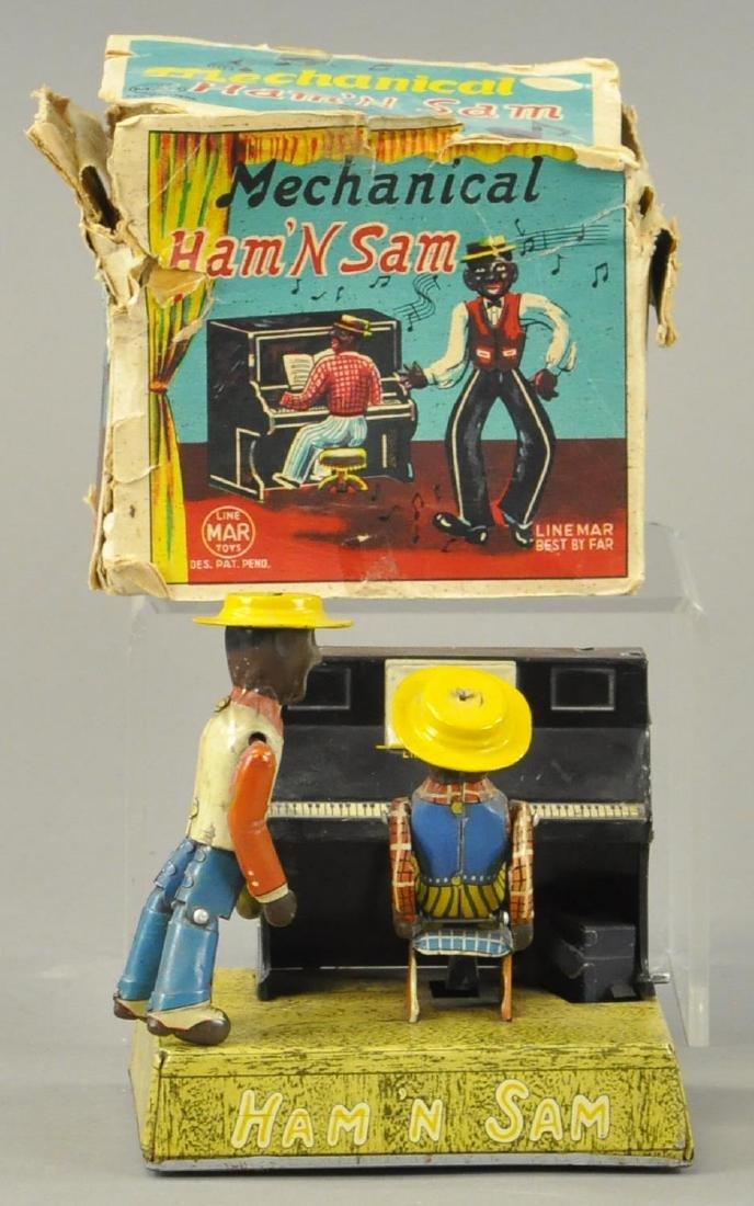 BOXED LINEMAR HAM AND SAM BAND