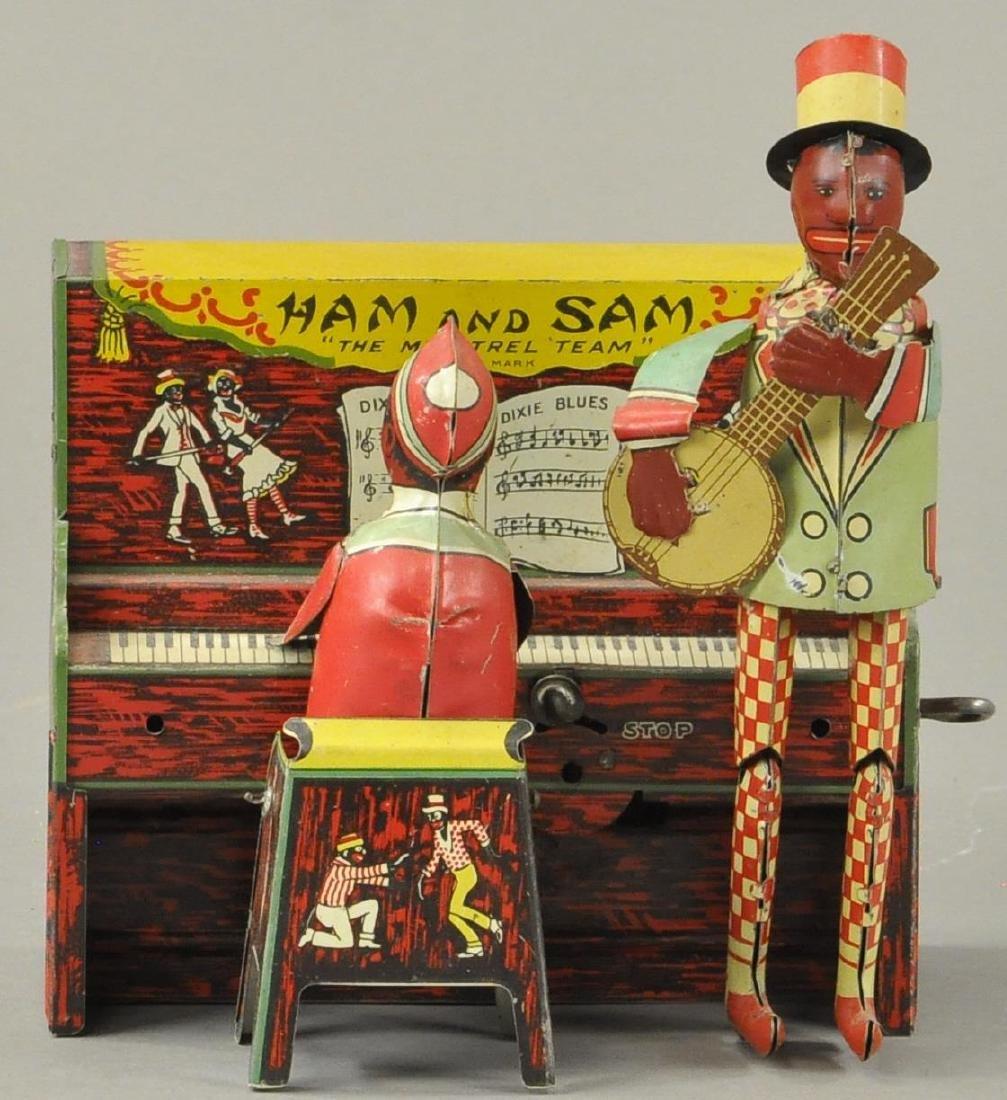 UNIQUE ART HAM AND SAM MINSTREL BAND
