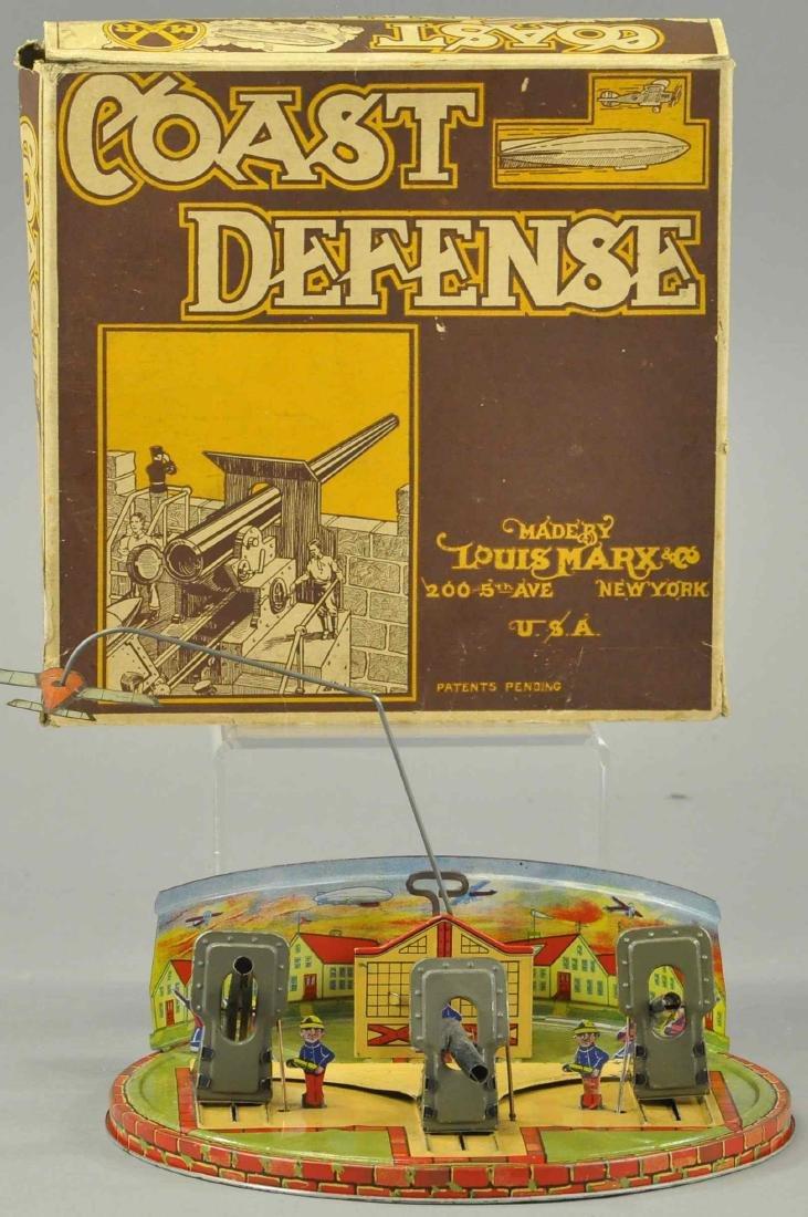 BOXED MARX COAST DEFENSE - AIRPLANE