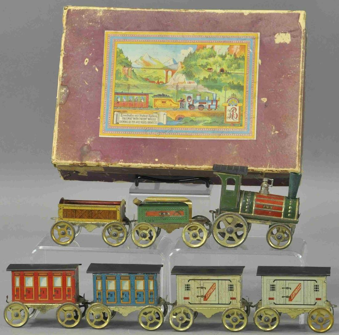 BOXED ISSMAYER FLOOR TRAIN