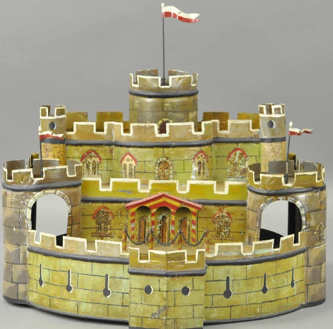 LARGE MARKLIN REVOLVING CASTLE FORT