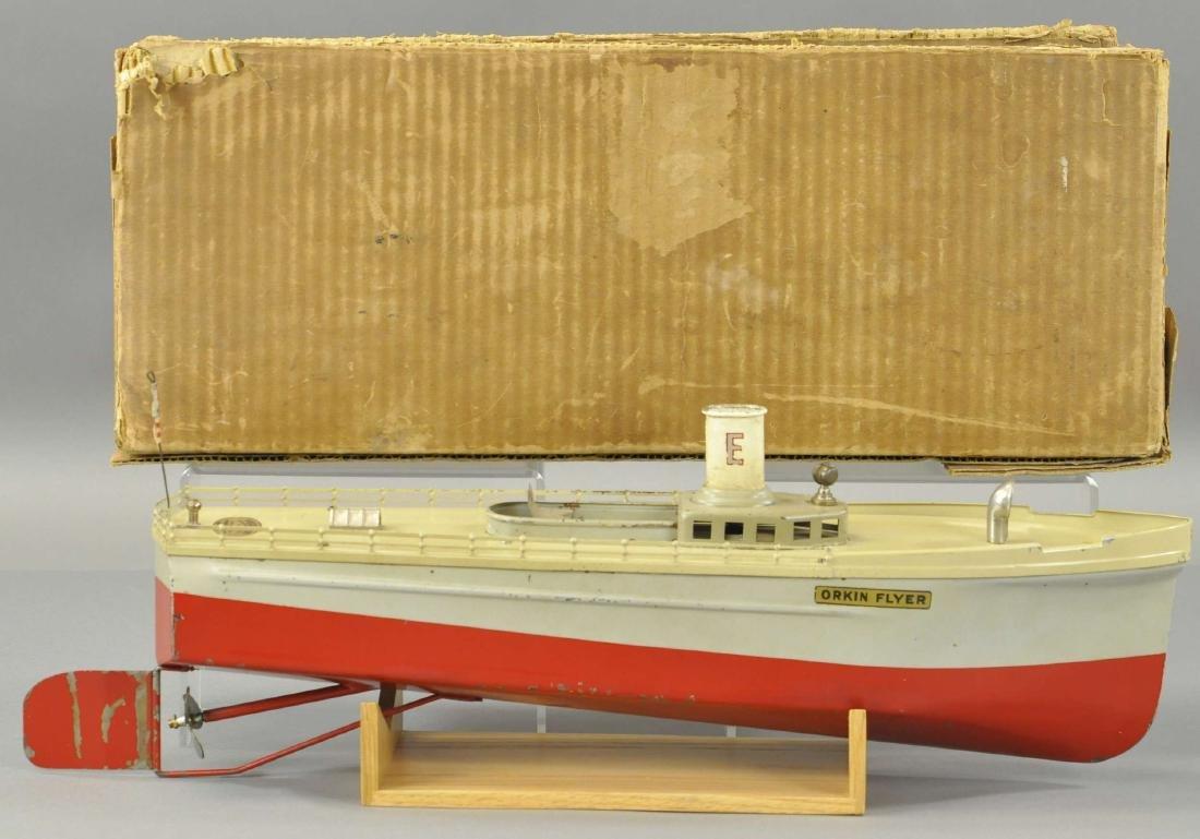 BOXED ORKIN CRAFT TUGBOAT