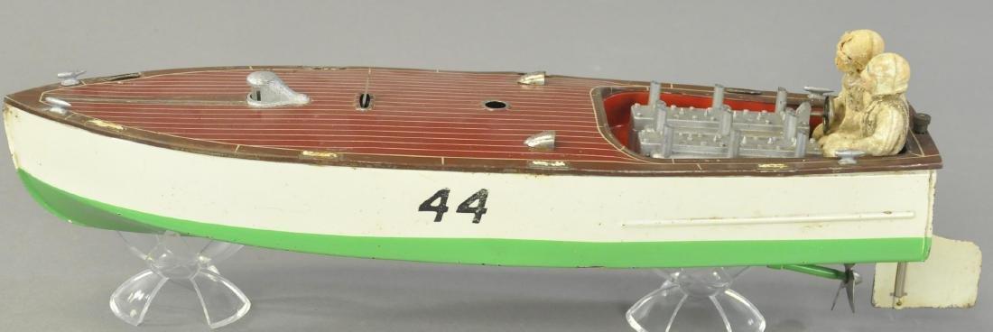 LIONEL MODEL #44 SPEED BOAT - 3
