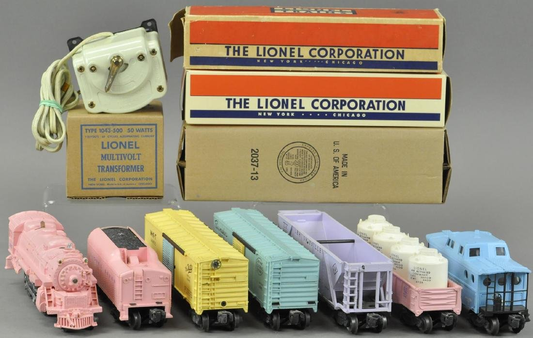 LIONEL GIRLS NO. 1587 TRAIN SET
