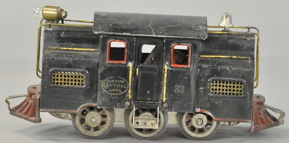 LIONEL BLACK SIX WHEEL 133 LOCOMOTIVE