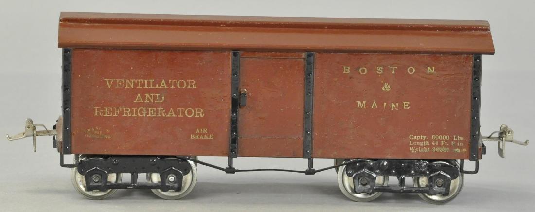 IVES RARE BOSTON AND MAINE 192 BOX CAR