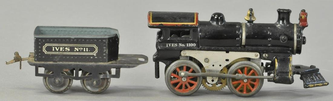 IVES ELECTRIC NO. 1100 LOCOMOTIVE AND TENDER