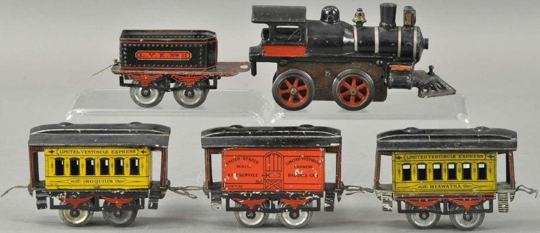 """IVES EARLY """"INDIAN"""" PASSENGER SET"""