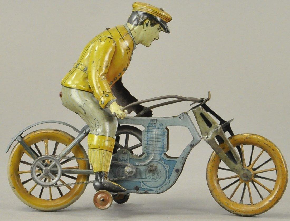 M&K SINGLE CYLINDER MOTORCYCLE