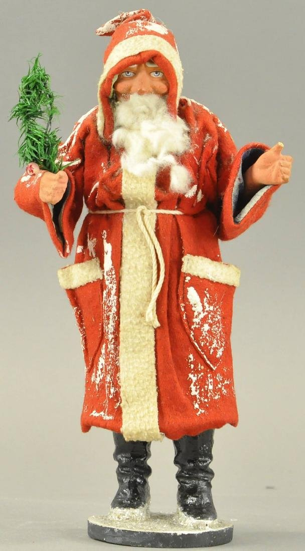 FATHER CHRISTMAS CANDY CONTAINER