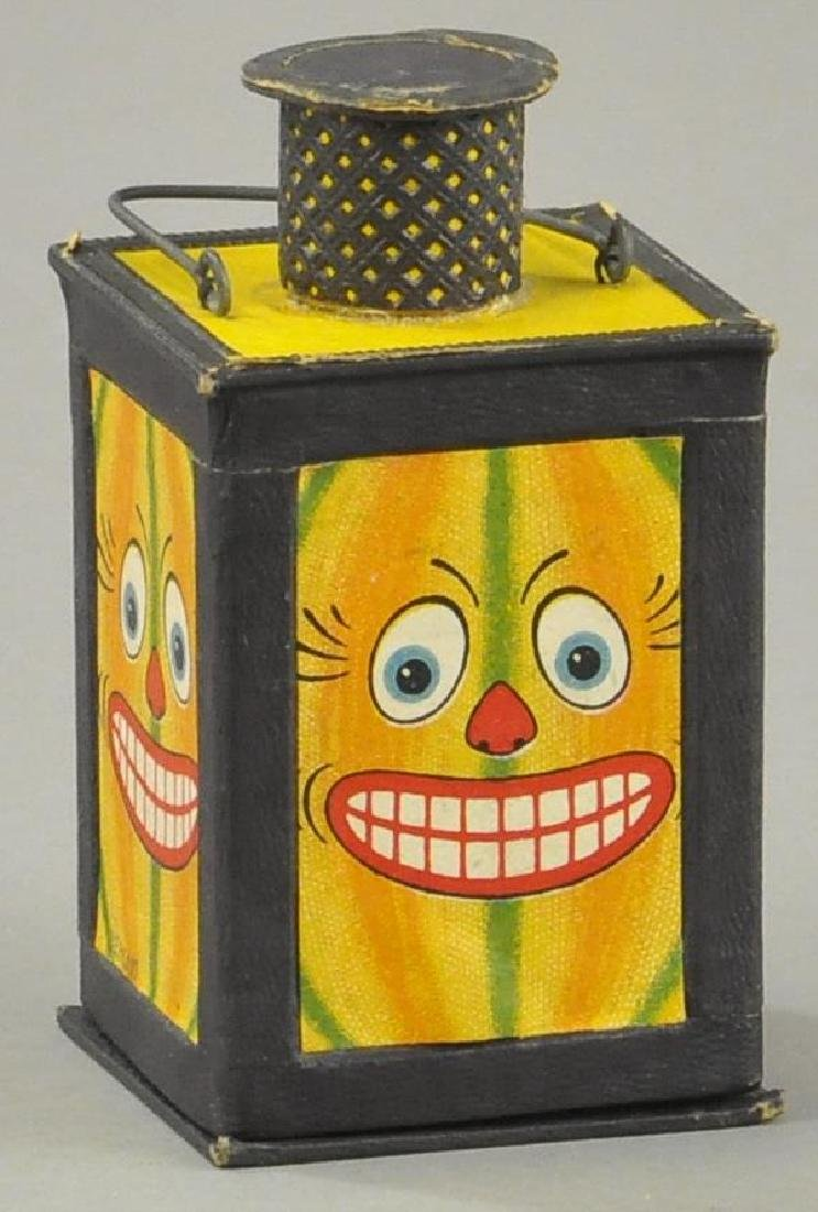 RARE HALLOWEEN LANTERN CANDY CONTAINER