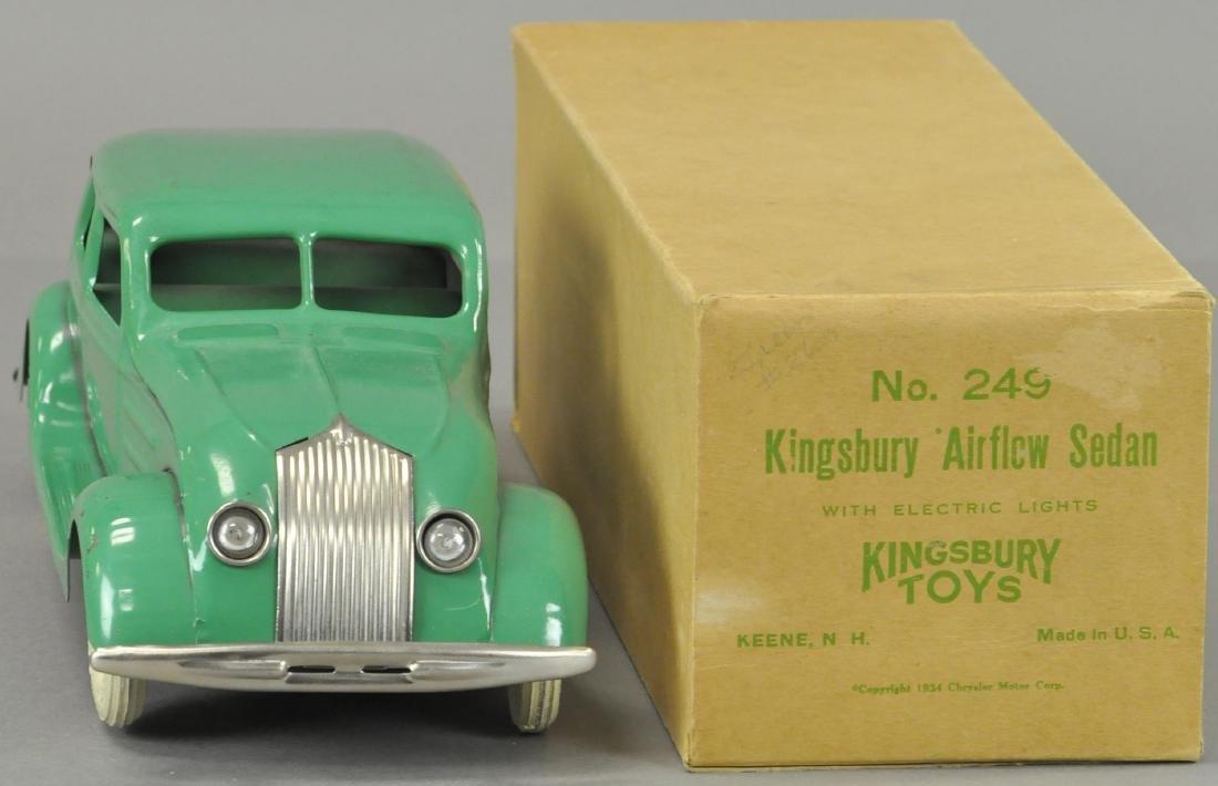 BOXED KINGSBURY AIRFLOW SEDAN