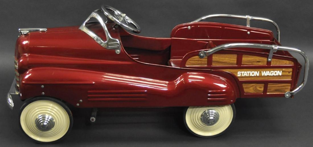 STEELCRAFT 1950 PONTIAC WAGON PEDAL CAR