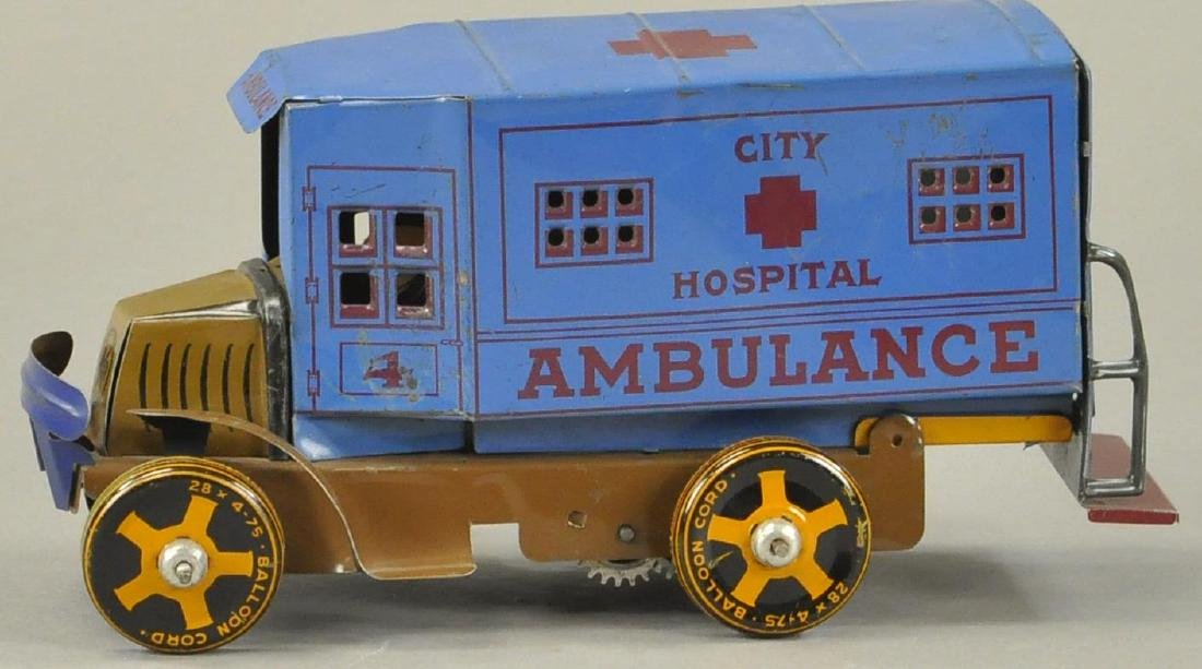MARX MACK AMBULANCE TRUCK