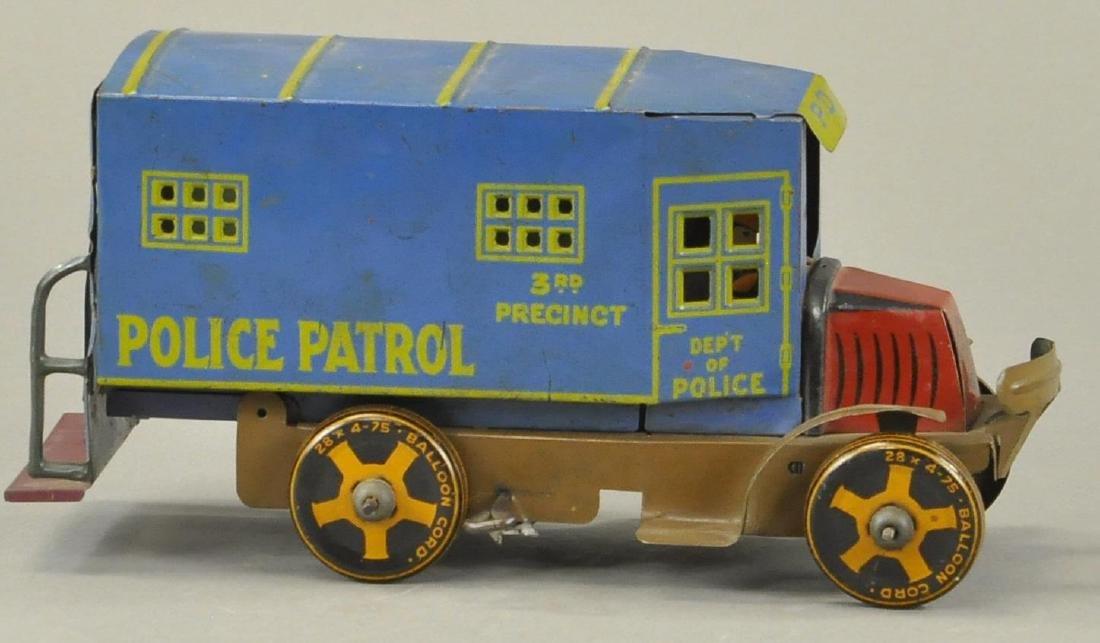 MARX POLICE PATROL TRUCK