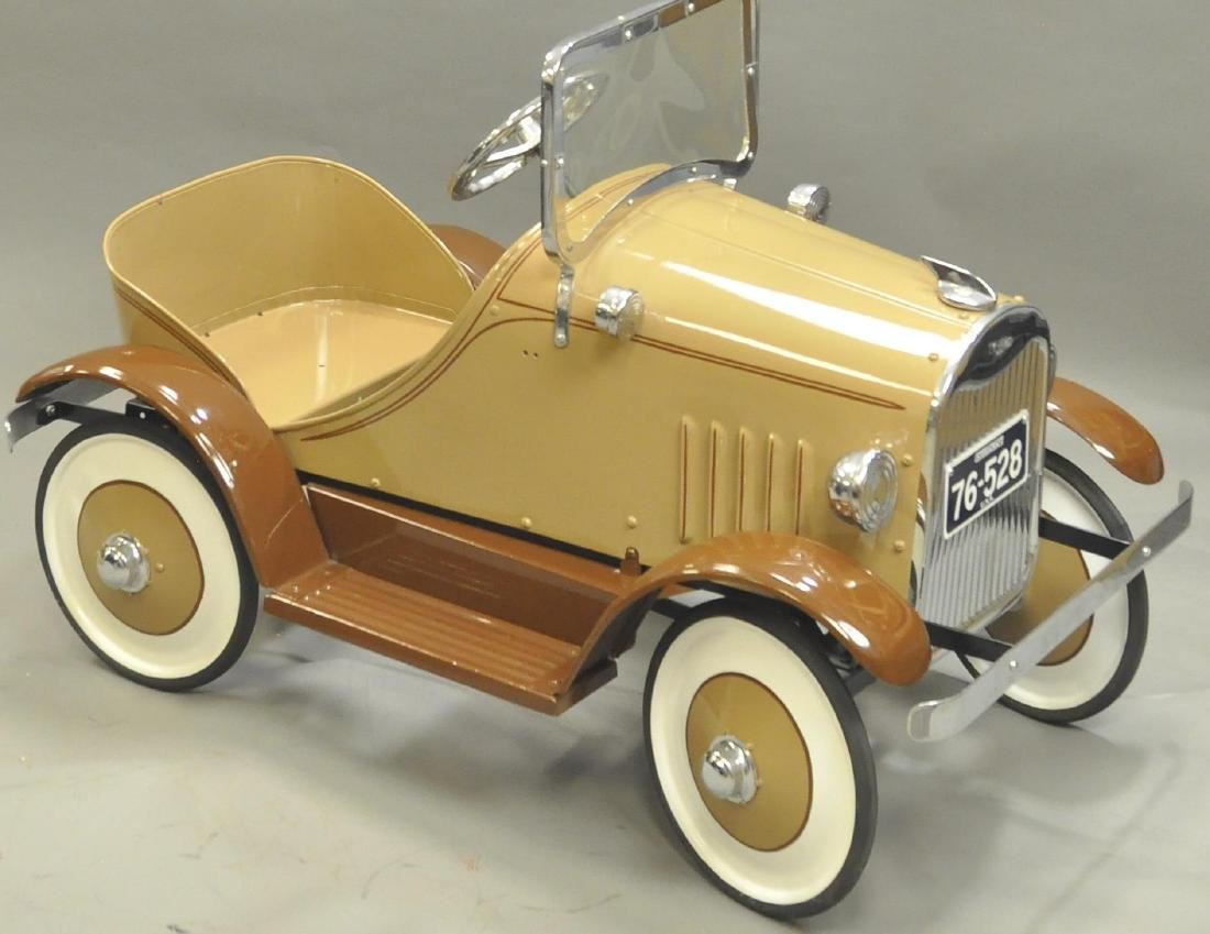 CONTEMPORARY STEELCRAFT CADILLAC PEDAL CAR